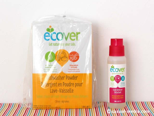 アイハーブの食洗器洗剤とエコベールの染み抜き剤