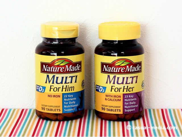 アイハーブのネイチャーメイドマルチビタミン&ミネラル サプリメント