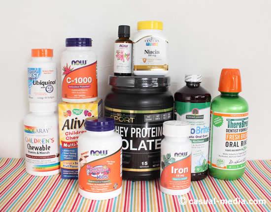 アイハーブ購入品|ナイアシンやビタミンC・アロマオイル・マウスウォッシュを紹介