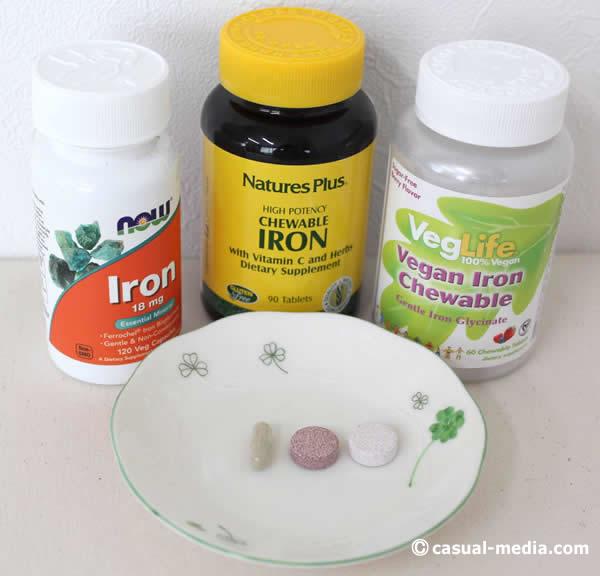 アイハーブ 鉄分Iron サプリメントの比較レビュー