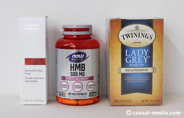 アイハーブでアンネマリーボーリンドセラミド美容液やデカフェ紅茶・HMBサプリを購入