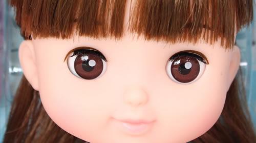 ソランちゃんのおめめのアップ写真