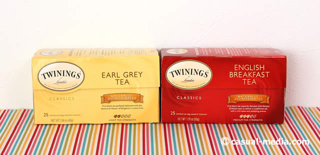 アイハーブ Twiningsのデカフェの紅茶