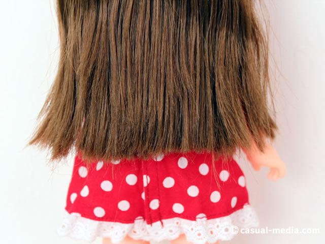 ずっと ぎゅっと レミン&ソラン ソラン おしゃれきほんセット ソランちゃんの髪の毛とバックっスタイル