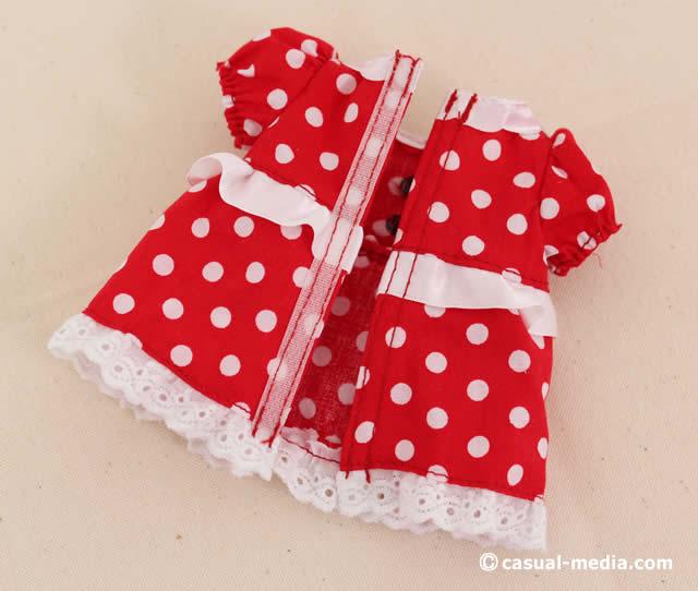 ソランちゃんのミニーマウスの洋服
