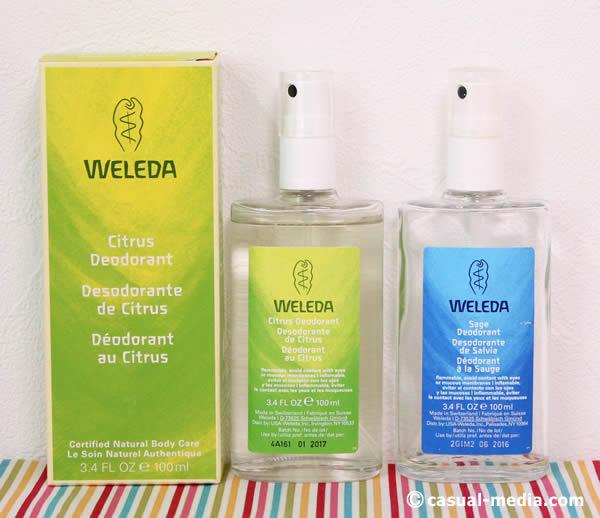 WELEDA(ヴェレダ)デオドラント製品 シトラス・セージ