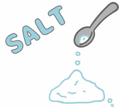 塩分のイメージ