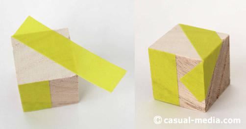 ニキーチンの積み木 模様づくり マスキングテープ2