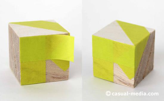 ニキーチンの積み木 模様づくり マスキングテープ3