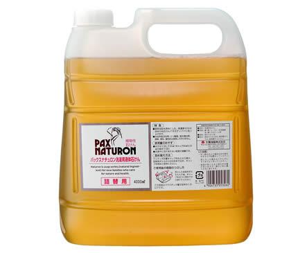 パックスナチュロン洗濯用液体石けん詰替用4L