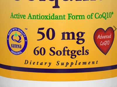 Healthy Origins, ユビキノール(カネカQH)、50 mg, 60ソフトジェル