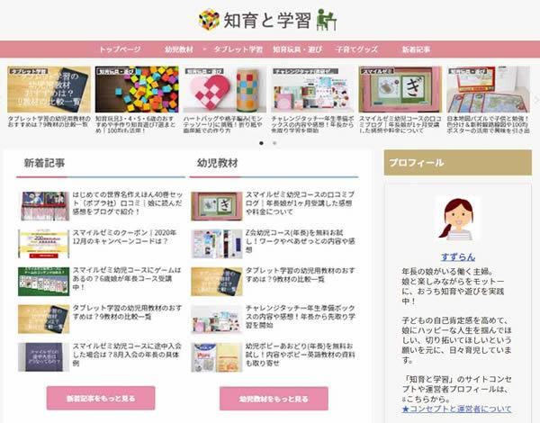 知育と学習トップページ