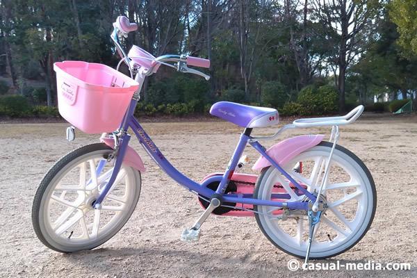 5歳自転車サイズ1