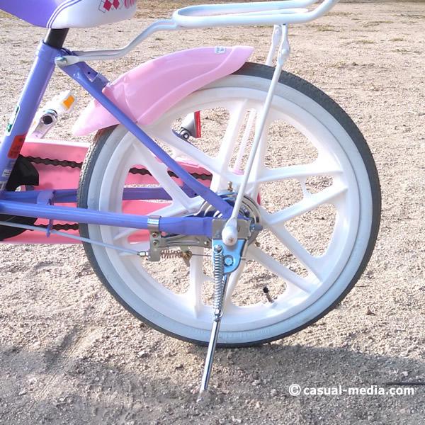 5歳自転車サイズ2