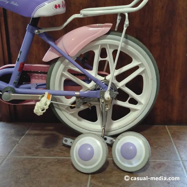5歳自転車サイズ4