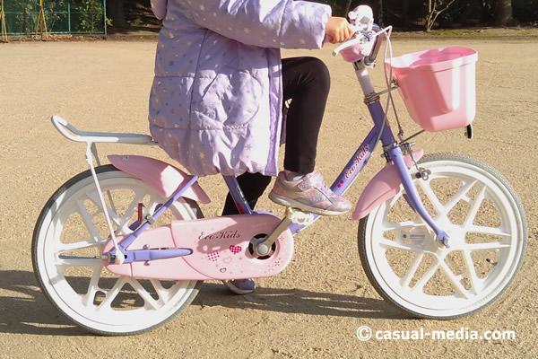 5歳自転車サイズ5